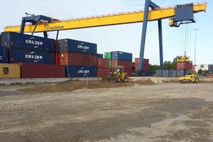 Reconstructie fundatie Containerterminal Alpherium te Alphen aan den Rijn