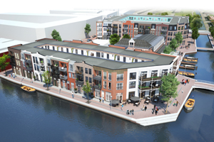Bouw- en woonrijp maken Nieuwbouw woningen en winkels te Alphen aan den Rijn