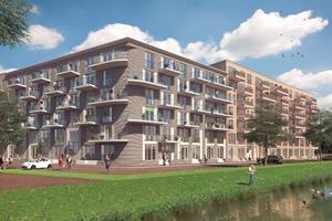 Bouw- en woonrijp maken Nieuwbouw 310 appartementen Zeeburgereiland Amsterdam