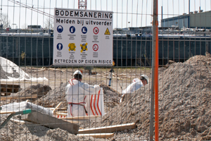 Saneringswerkzaamheden Bedrijventerrein Krohne Dordrecht