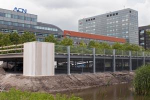 Nieuwbouw tijdelijke stallingsgarage PWC Amsterdam