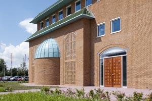 Bouw en woonrijp maken Nieuwbouw moskee ICCLR Utrecht