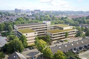"""Nieuwbouw 54 appartementen """"De Badeloch"""" te Den Bosch"""