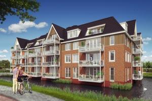 Nieuwbouw 27 appartementen De Ruy te Oostvoorne