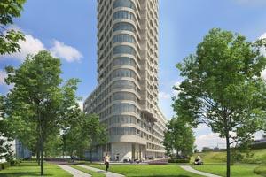 Nieuwbouw State te Amsterdam