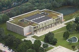 Nieuwbouw Universiteit OZC Tilburg (Breaam excellent )
