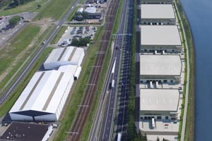 Nieuwbouw Distibutiecentrum Smartlog Rotterdam