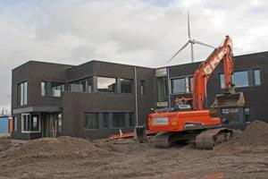 Nieuwbouw bedrijfspand Kazernedok te Nieuwegein