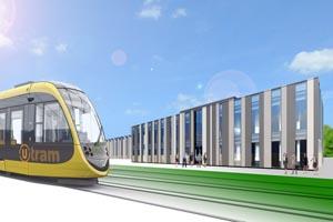 Tramremise te Nieuwegein