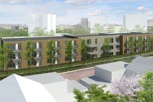 Nieuwbouw 48 zorgeenheden te Zoetermeer