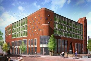 Nieuwbouw bibliotheek te Alphen aan den Rijn