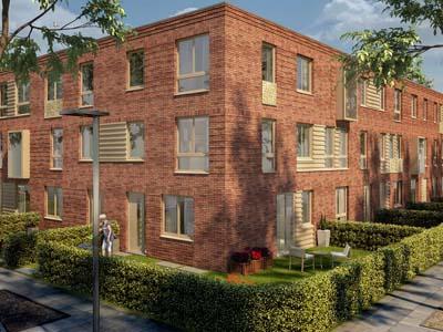 Realisatie woningen binnenstedelijk gebied Utrecht
