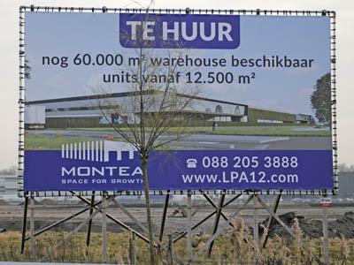 Nieuwbouw Montea te Waddinxveen